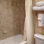 good tile but the shower head not too much