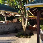 The Mango Tree restaurant dining area