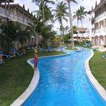 una piscina del hotel.
