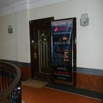 Reception entrance.