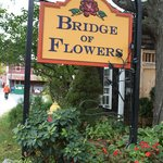 Restaurant is next to Bridge of Flowers