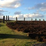 ring of brodgar to ourselves on Boxing Day