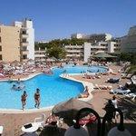 piscina TRH palmanova, vista camere