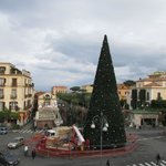 View of Piazza Tasso from front window