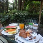 beautiful breakfast included - great way to start the day!