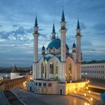Kul Sharif mosque in Kazan Russia