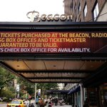 Beacon Theatre next door