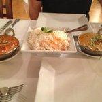 Chicken Tiki, Basmatti Rice, Lamb Khorma