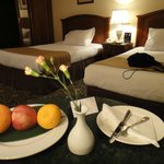 Complimentary welcome fruits