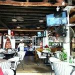 Nearly empty restaurant...