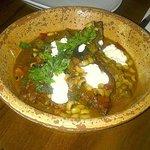 Spectacular braised goat dish