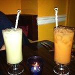 drinks served so cute!