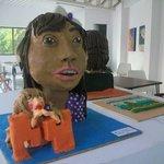Una muestra del Taller de Escultura para niños (plastilina). Espacios para aprender y divertirse