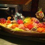 Special sashimi boat
