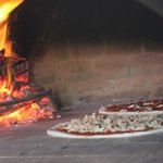 wood fired clay oven