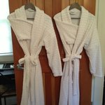 Two of the four robes