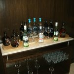 Executive club drinks selection 6-9pm