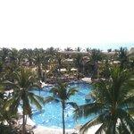 Desde una suite frente al mar!