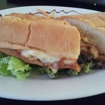 Chicken Parmesan Brooklyn Style Sandwich