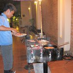 BBQ Dinner Buffet - try it on Friday evening with live music
