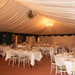 What a beautuful marquee.. it did you proud.