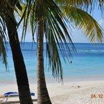 panorama della spiaggia privata