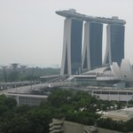 view from our room (Marina Bay)