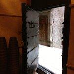 front door!