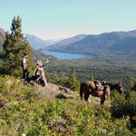 hikes and rides in the property - the continental water divide