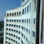 the facade of the hotel