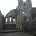 The nave of Fore Abbey