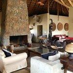 Lodge lounge area