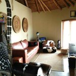 Lodge lounge/ TV area