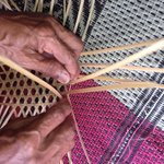 Basket weaving in the village