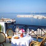 balkony sea view