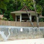 Villas sur Phralang beach (aucune intimité)