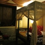 Our room with King bed.
