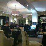 really comfortable executive lounge
