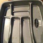 Dirty cutlery drawer tray :-(