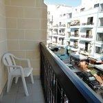 Un lato del balcone -lato Sx-