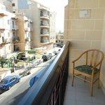 Un lato del balcone -lato Dx-