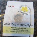 Lucky Farms Kona Coffee! YUM!