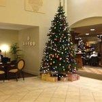 Lobby area of hotel
