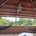 Vue de la terrasse de toit