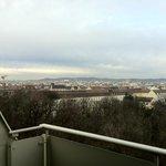 vista dal terrazzo della camera