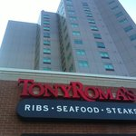 Tony Roma's Fallsview (located at the base of the Radisson hotel)