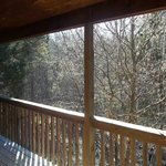 View off deck of Cabin 4