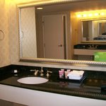 Double Sinks in the Resort Room