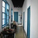 Nice corridor leading to rooms