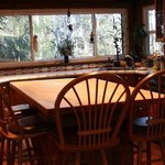 Breakfast at the source or in the dining room.
